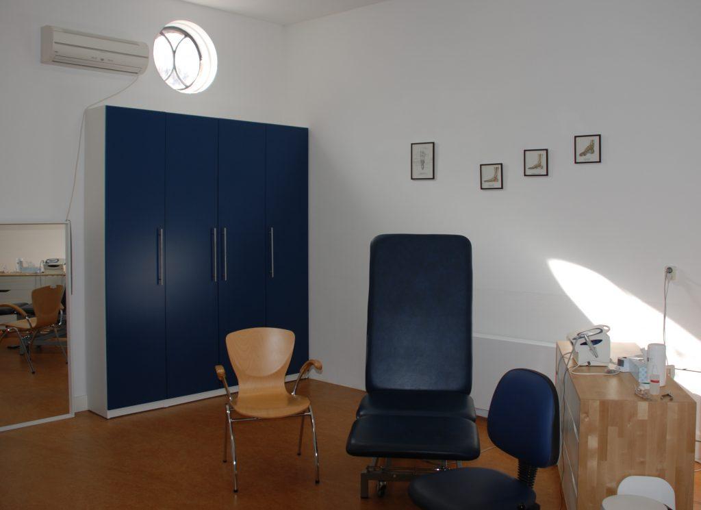 Podotherapie Bregman - Behandelkamer